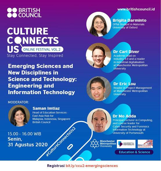 "British Council CCU Vol. 2 – ""Emerging Sciences and New Disciplines in Science and Technology"""