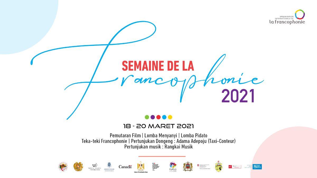 Merayakan semangat bahasa Prancis pada Pekan Frankofoni 2021!