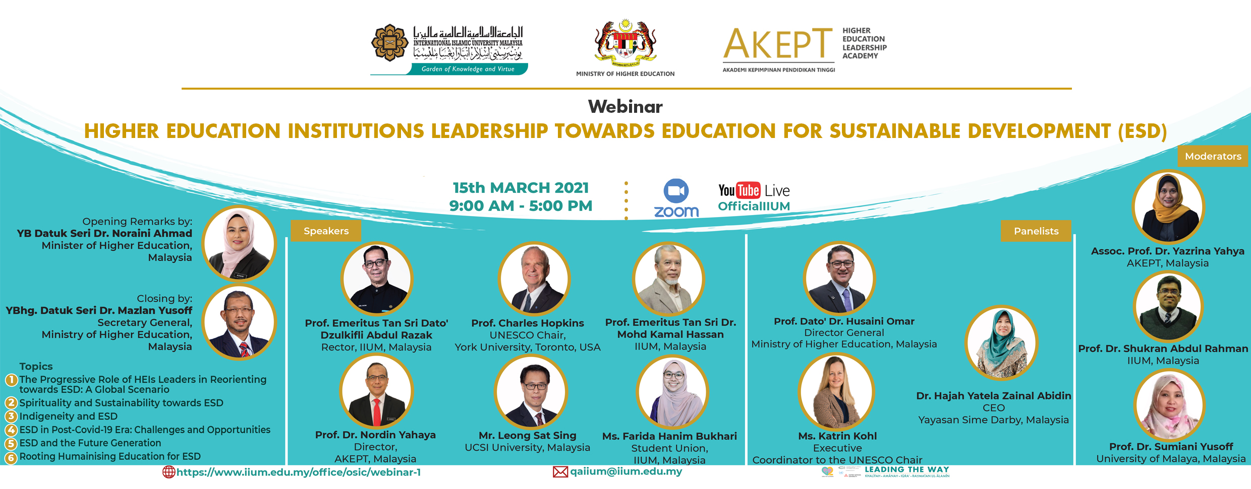 [Information Sharing] AKEPT Global Series Webinar Invitation