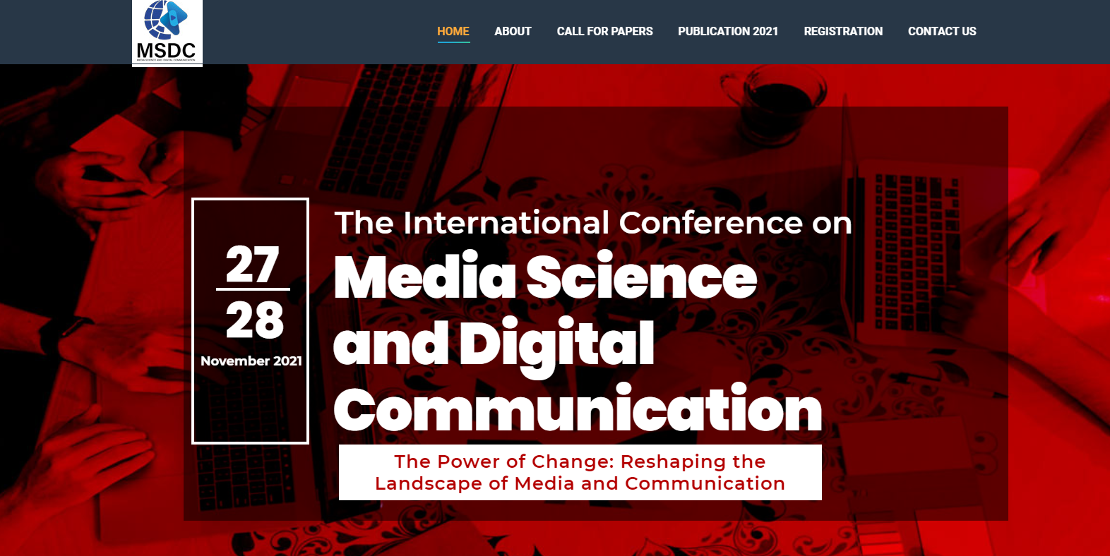 The International Conference on Media Science and Digital Communication (special rates for ITB participants)