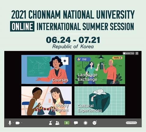 2021 Chonnam National University ON-LINE International Summer Session