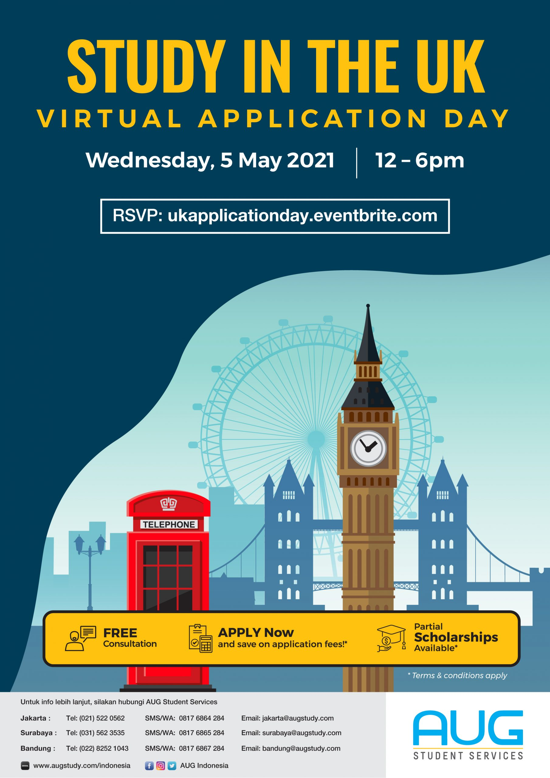 Study In The UK Virtual Application Day
