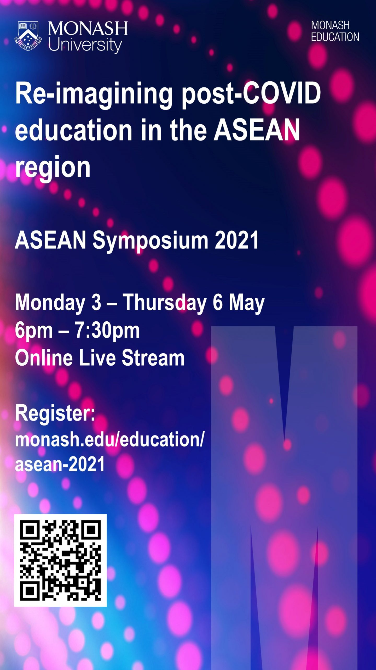 ASEAN Symposium – Re-imagining post-COVID education in the ASEAN region