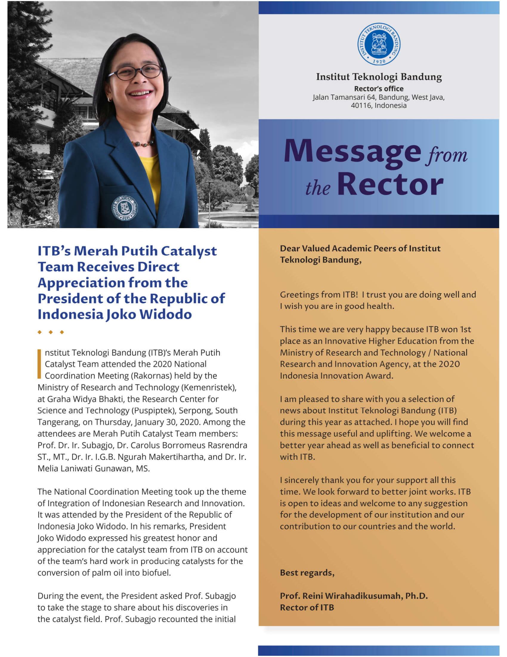 Newsletter ITB