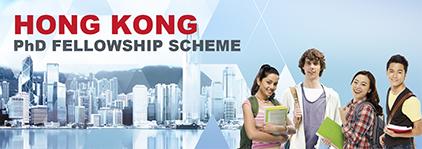 Hong Kong PhD Fellowship Scheme 2022/23