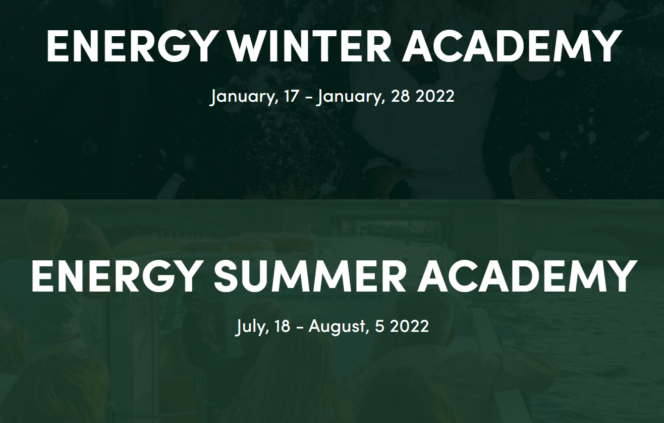 Short non-degree programmes for engineers: Energy Academy 2022